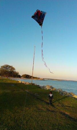 Harkness Memorial State Park: Kite