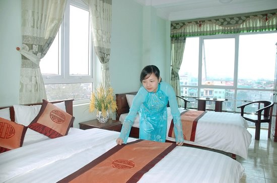 Phuong Anh Hotel : Deluxe twin room