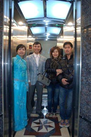 Phuong Anh Hotel : elevator