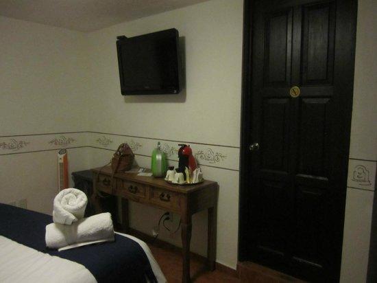 Hotel Villa del Villar: Parte de la Habitación