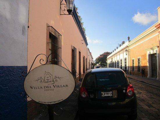 Hotel Villa del Villar: Fachada