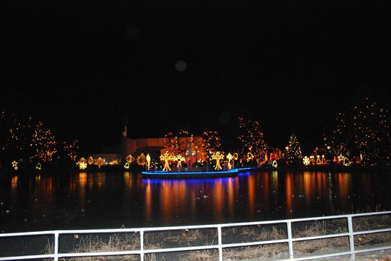 Festival of Lights, LaSalette Shrine - Picture of National Shrine ...