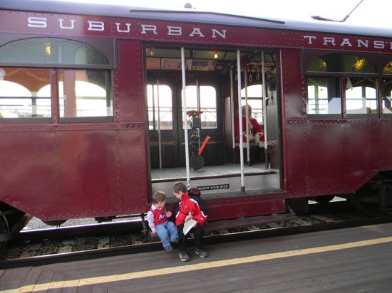 Steamtown National Historic Site : We had a great time!