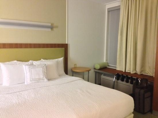 SpringHill Suites Ashburn Dulles North: king bed