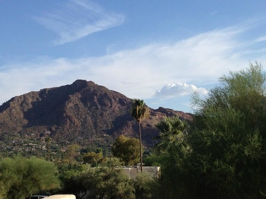 JW Marriott Scottsdale Camelback Inn Resort & Spa: View from Room