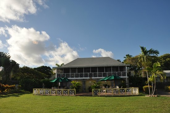 Nisbet Plantation Beach Club: The Great House