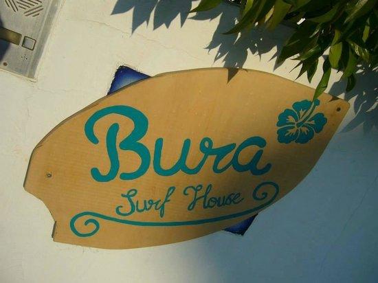Bura Surfhouse: Front Gate