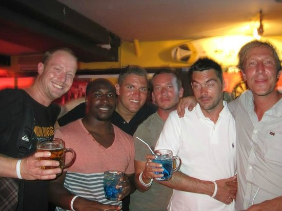 Bura Surfhouse: With the Owner and the crew....