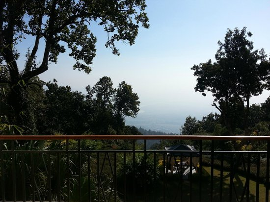 Ananda in the Himalayas: View from Balcony