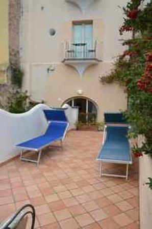 Positano Art Hotel Pasitea: Terrace