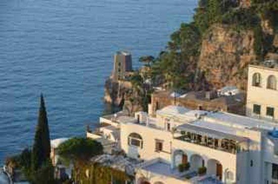 Positano Art Hotel Pasitea: Terrace View