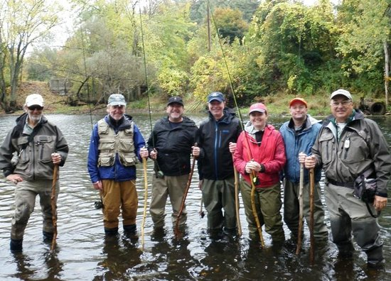 on stream fly fishing instruction - picture of northeast fly, Fly Fishing Bait