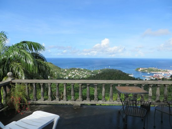 The Lodge Grenada: View from the Dragon Room's veranda - gorgeous!!