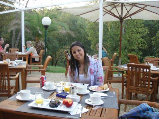 Novotel Antibes Sophia Antipolis : Café ao ar livre