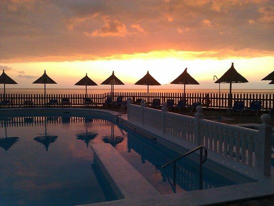 Sol La Palma Apartamentos: Atardecer