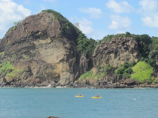 Aqua Wellness Resort: kayaking in Redonda Bay
