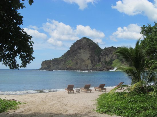 Aqua Wellness Resort: the beach at Redonda bay
