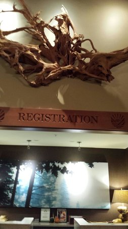 Skamania Lodge : Registration