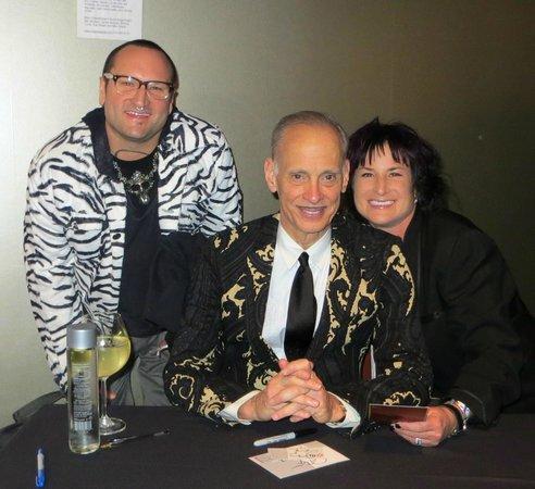 meeting John Waters at Yoshi's San Fran