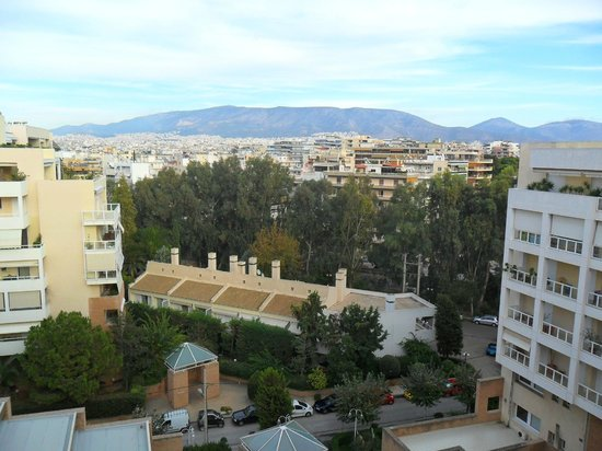 Athens Poseidon Hotel: view looking off the roof
