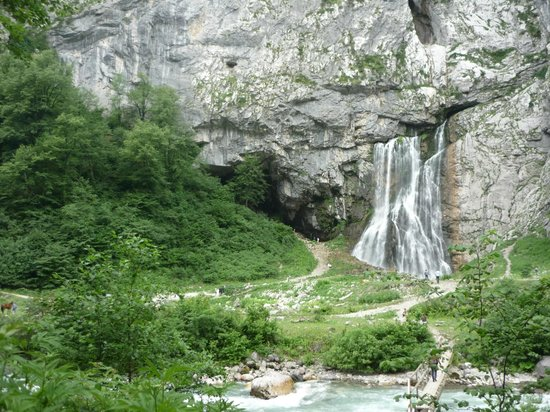 Gegskiy Waterfall