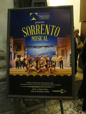 Teatro Tasso: playbill