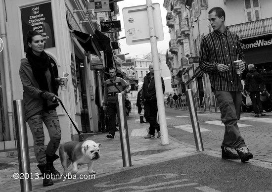 Rue Meynadier: street scene