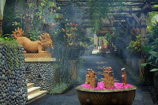 Royal Kirana Spa & Wellness: beautiful artworks