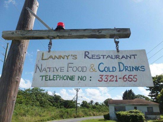 Lanny's Restaurant : Da Sign