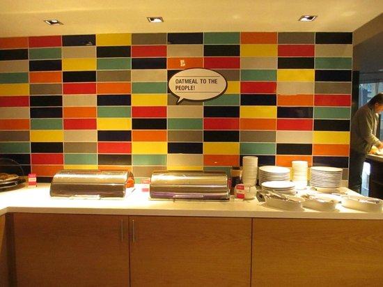 Comfort Hotel Boersparken: Oatmeal station