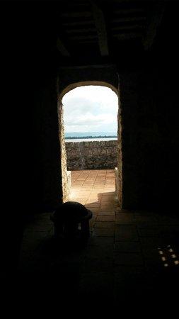 Castillo de San Felipe de Lara: Vista desde una de las torres del castillo