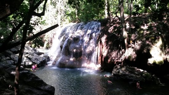 Hot Springs : Aguas termales de finca Paraíso