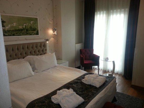 Hotel Amira Istanbul: Doppelzimmer Standard (klein aber fein)