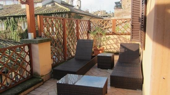 Residenza Canali ai Coronari : Room 41 with this fantastice, private terrace