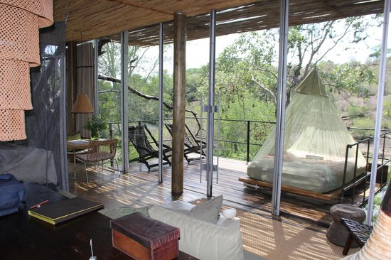 Singita Sweni Lodge: Room with a view