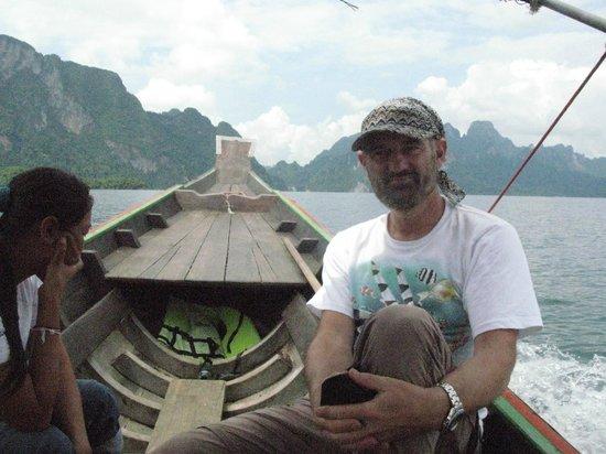 Aqua One Watersports: Klaus auf dem Kao Sok Stausee