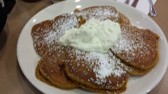 The Original Pancake House: Pumpkin Pancakes