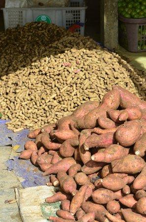 Pasar Serikin: local produce