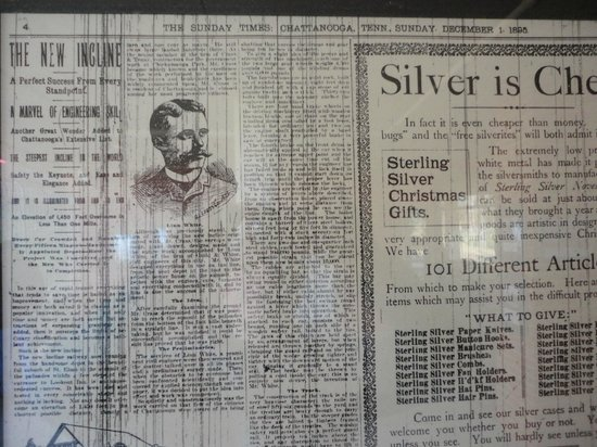 The Lookout Mountain Incline Railway: Article from Dec 1, 1895