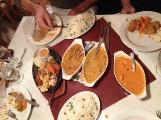 curry sensation for four
