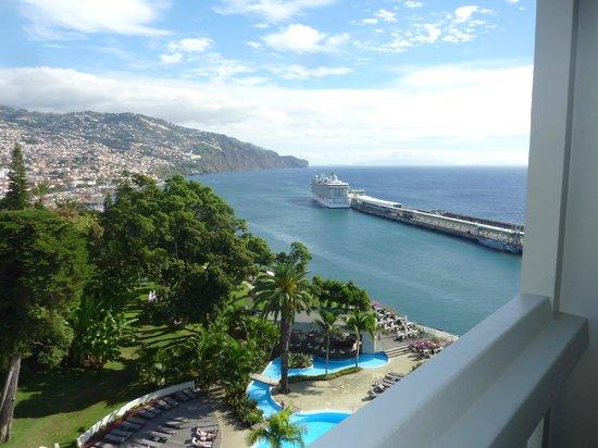 Pestana Casino Park Hotel : Vue de Funchal