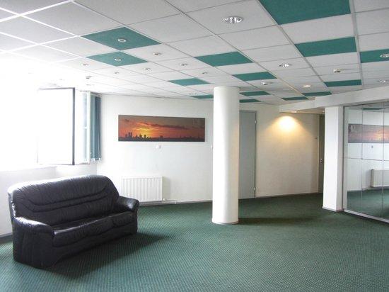 Center Hotel: коридор 5 этажа