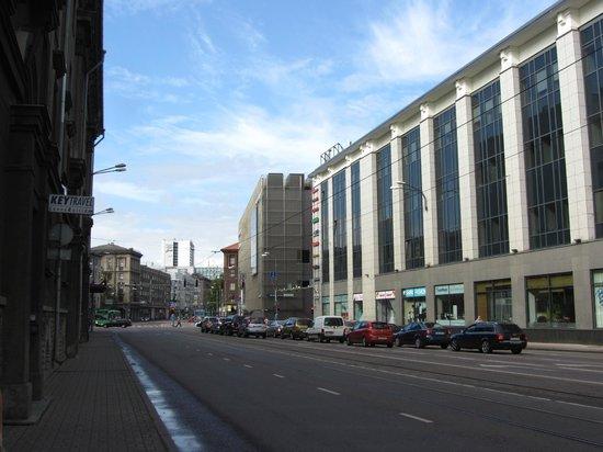 Center Hotel: улица Нарва