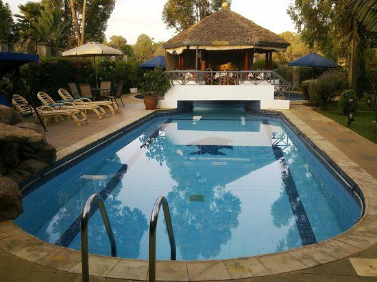 Cold Springs Karen Boutique Hotel: Swimming Pool View
