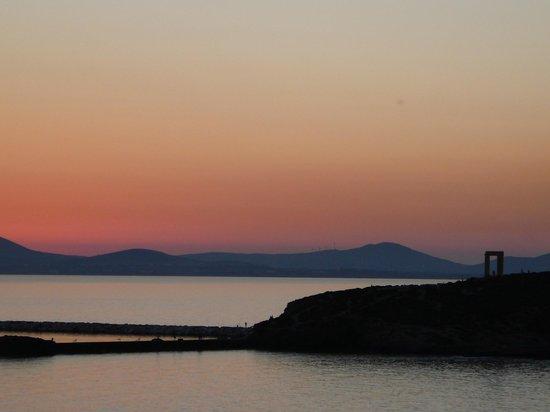 Sunset from Hotel Grotta