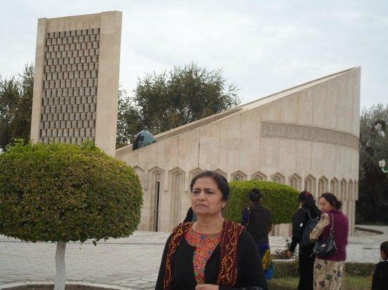 Chasma Ayub Mausoleum: Just In-front of Chashma Ayub Mausoleum- An Impressive Monument of Imam Al-Bukhari