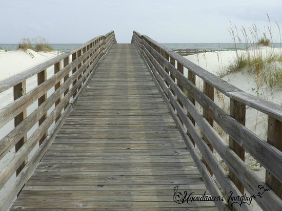 Gulf State Park : Take a walk down the boardwalk