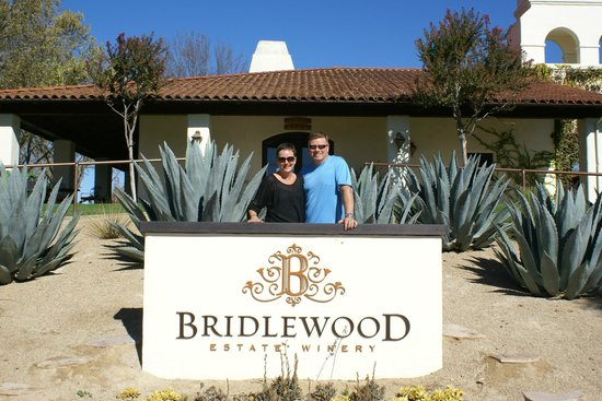 DeeTours of Santa Barbara: One of the wineries we visited, Bridlewood Estate Winery