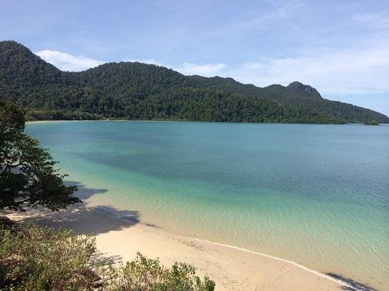 The Andaman, A Luxury Collection Resort : View of Datai bay from our room