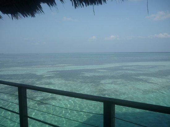 Club Med Kani: vue depuis la terrasse